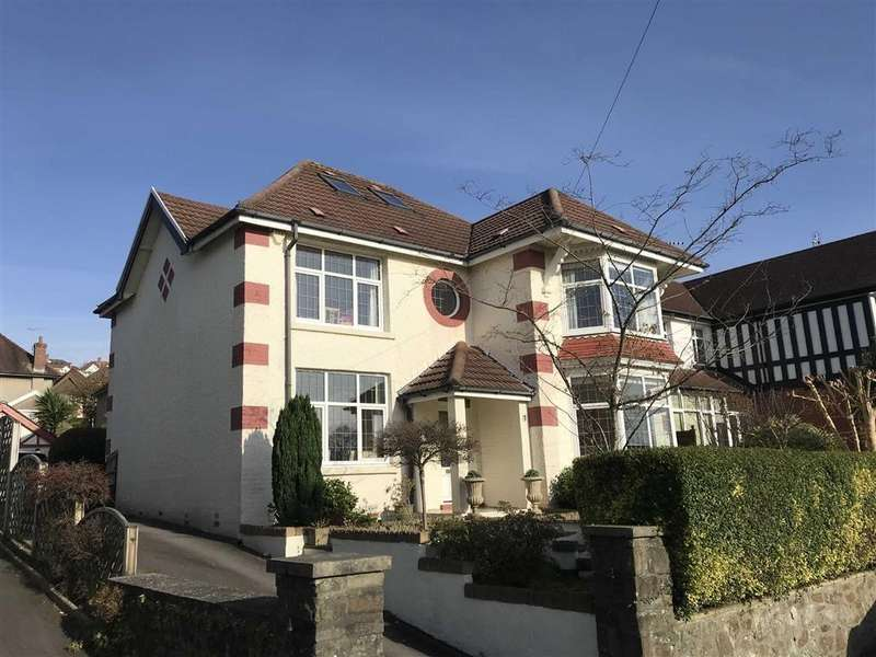 4 Bedrooms Detached House for sale in Myrtle Grove, Swansea, SA2