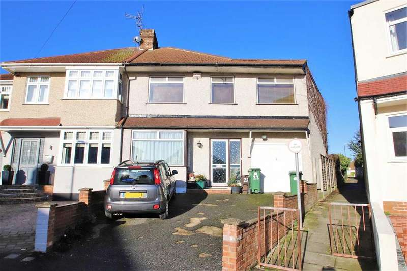 5 Bedrooms Semi Detached House for sale in Edwin Close, Bexleyheath