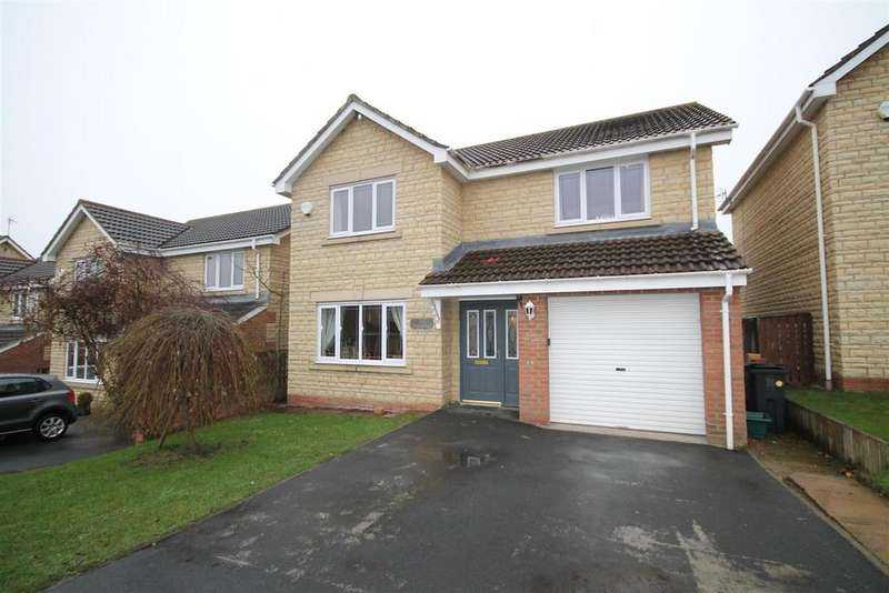 4 Bedrooms Detached House for sale in Oakfields, Hunwick, Crook