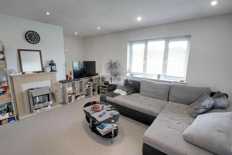 2 Bedrooms Maisonette Flat for sale in Tuffleys Way, Thorpe Astley, Leicester