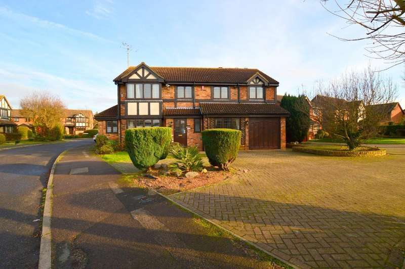 5 Bedrooms Detached House for sale in Woodmere, Barton Hills, Luton, LU3 4DN