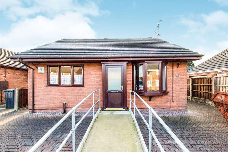 2 Bedrooms Detached Bungalow for sale in Marjorie Avenue, Lincoln, LN6