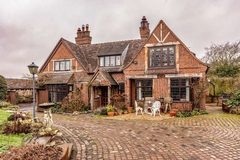 3 Bedrooms Detached House for sale in Moor Lane, Footherley, Lichfield, WS14