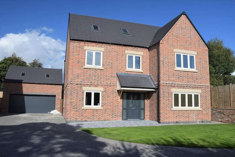 5 Bedrooms Detached House for sale in Worthington Lane, Newbold Coleorton, Leicestershire