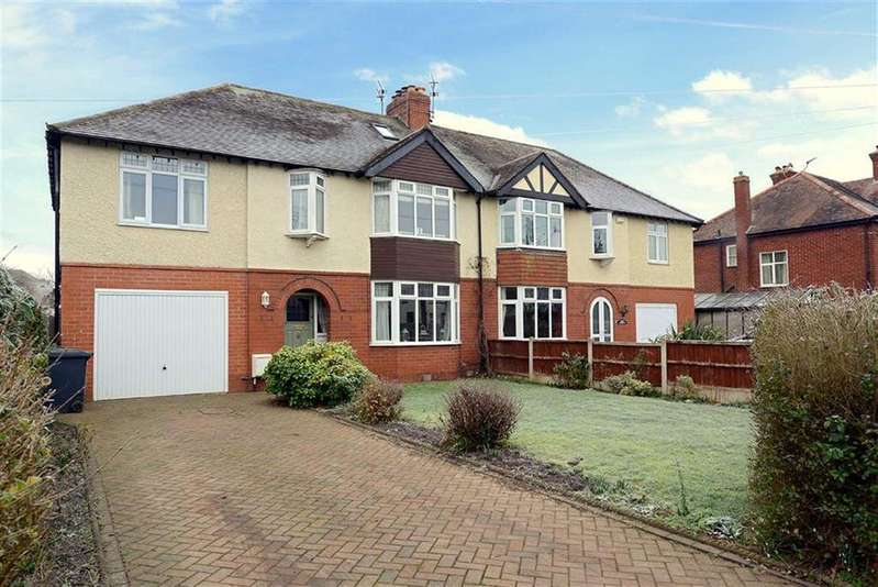 4 Bedrooms Semi Detached House for sale in Wenlock Road, Shrewsbury, Shropshire