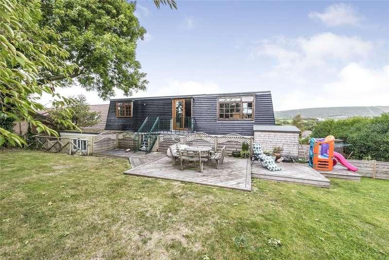 5 Bedrooms Detached House for sale in Harmans Cross, Dorset