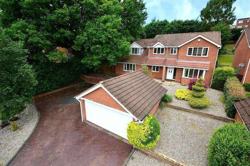 5 Bedrooms Detached House for sale in Weatheroak Close, Redditch, Worcestershire, B97