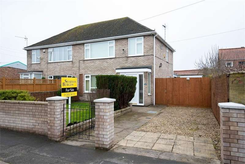 3 Bedrooms Semi Detached House for sale in Witham Green, Boston, Lincolnshire