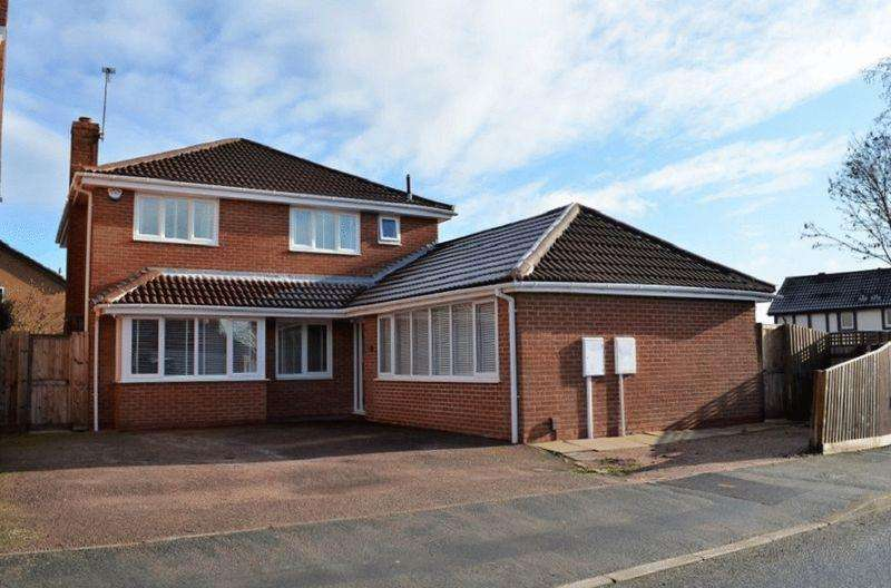 5 Bedrooms Detached House for sale in Oakmeadow Way, Groby