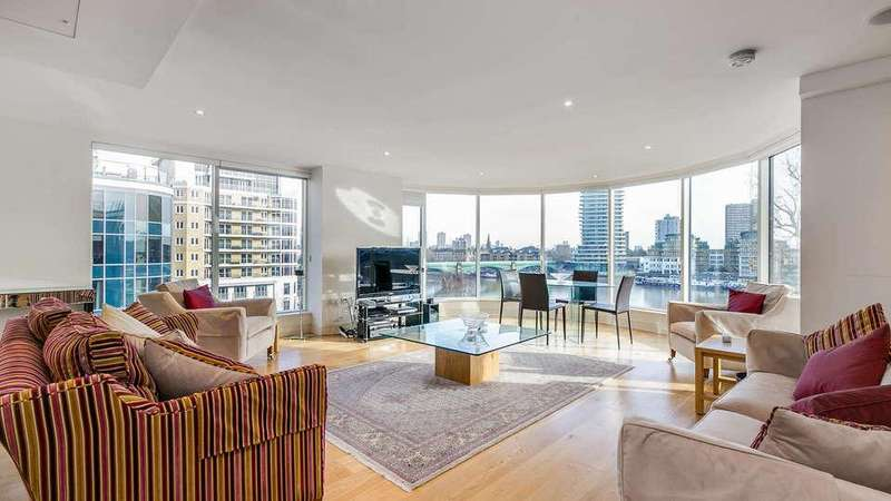 3 Bedrooms Flat for sale in Lensbury Avenue, London. SW6