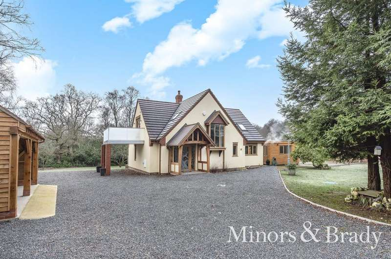 3 Bedrooms Detached House for sale in Lady Lane, Hainford