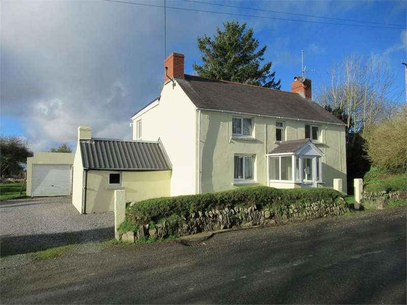 3 Bedrooms Detached House for sale in Delfryn, Llysyfran, Clarbeston Road, Pembrokeshire