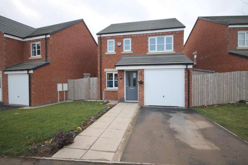 3 Bedrooms Detached House for sale in Gresley Drive, Shildon