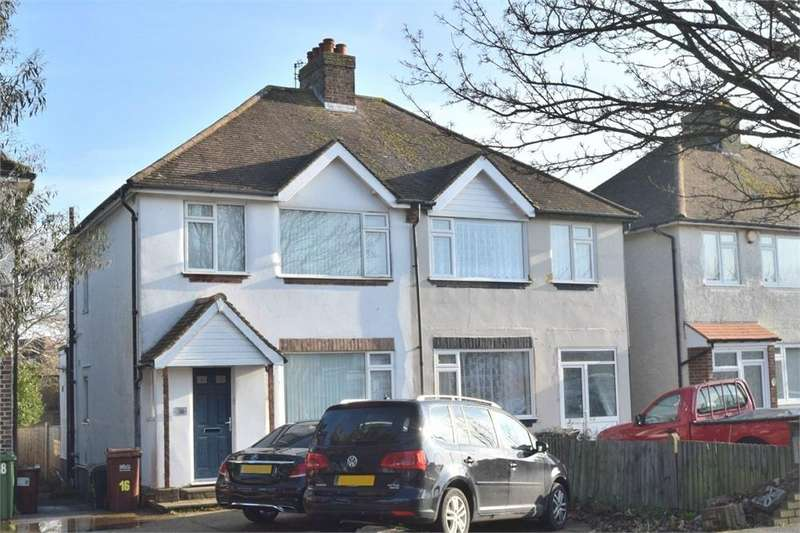 3 Bedrooms Semi Detached House for sale in Lottbridge Drive, Hampden Park, East Sussex