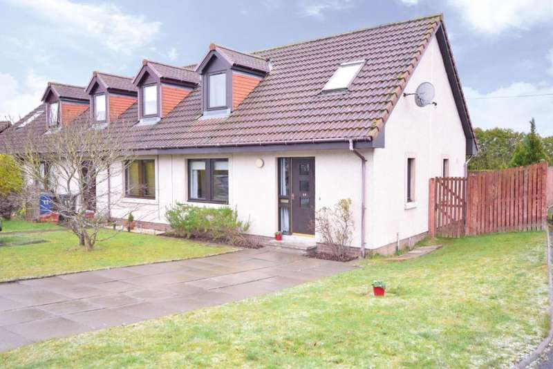 3 Bedrooms Semi-detached Villa House for sale in Rosedale Neuk, Rosewell, Edinburgh, EH24 9DH