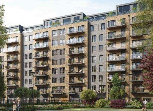 2 Bedrooms Flat for sale in Unit Plot 2293 Capri Apartments, Caversham Road, Beaufort Park, London
