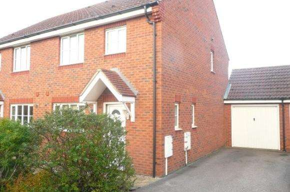 3 Bedrooms Semi Detached House for sale in Coltsfoot Road, Rushden