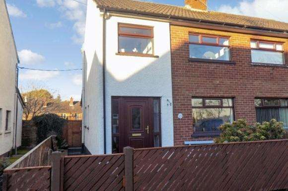 3 Bedrooms Semi Detached House for sale in 10 Peel Gardens, Upper Ballinderry