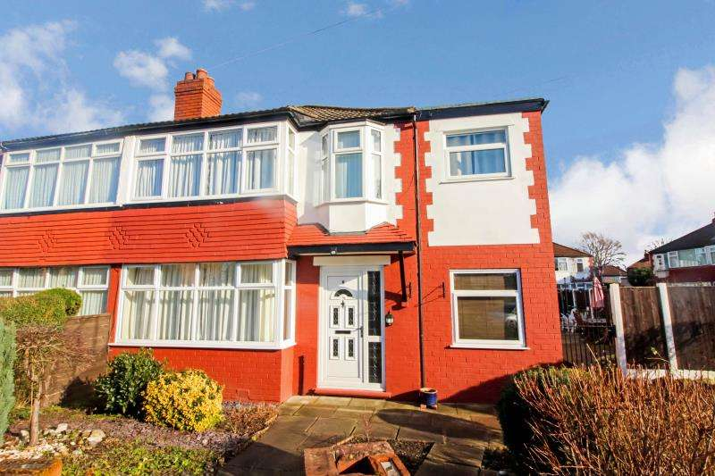 4 Bedrooms Semi Detached House for sale in Lighthorne Road , Cheadle Heath