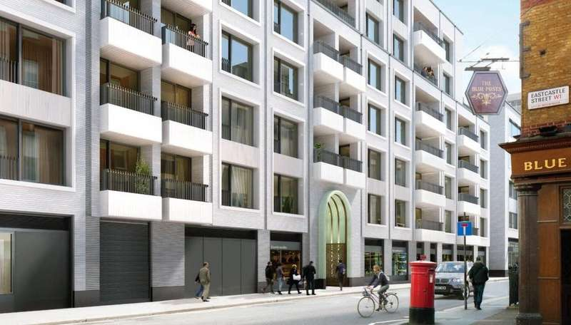 2 Bedrooms Flat for sale in Rathbone Square, Fitzrovia, London, W1T