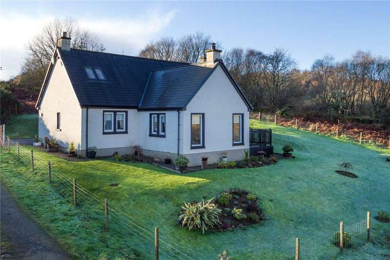 3 Bedrooms Detached House for sale in Whitehouse, Tarbert, Argyll and Bute