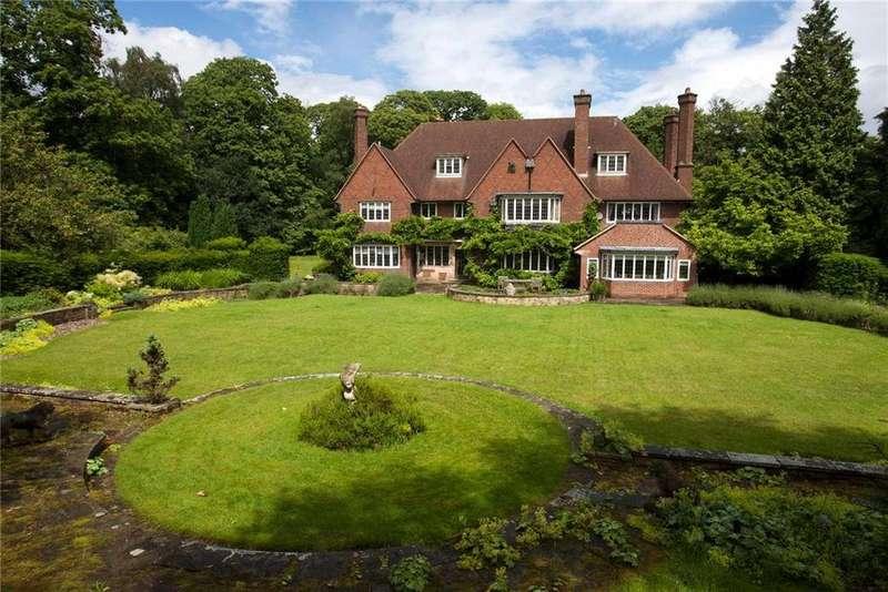 6 Bedrooms Detached House for sale in Bracebridge Road, Four Oaks, Sutton Coldfield, West Midlands, B74