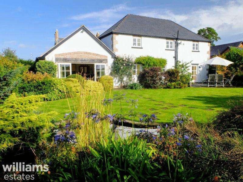 3 Bedrooms Barn Conversion Character Property for sale in Llandyrnog, Denbighshire