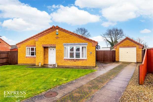 3 Bedrooms Detached Bungalow for sale in Ketel Close, Long Sutton, Spalding, Lincolnshire