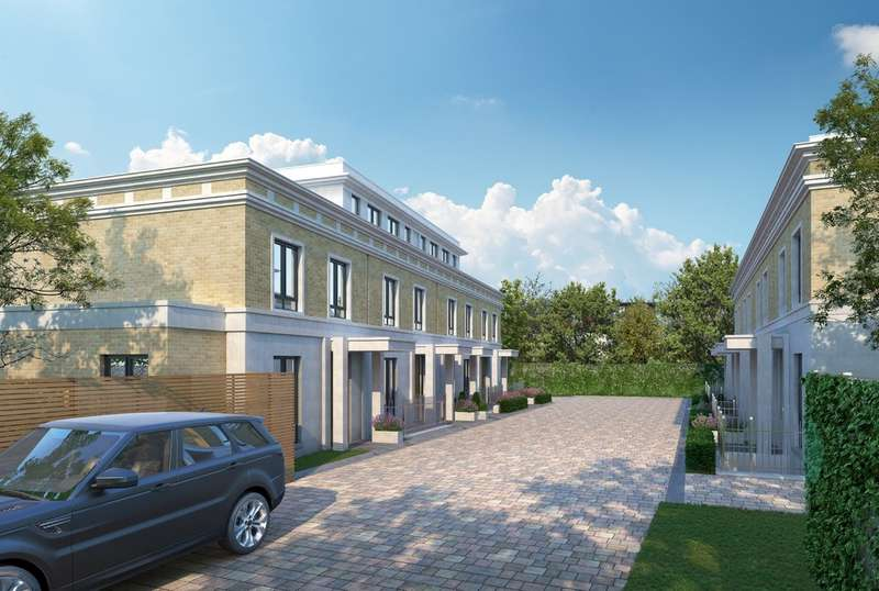 4 Bedrooms Town House for sale in Basilica Mews, Thurleigh Road, London, SW12