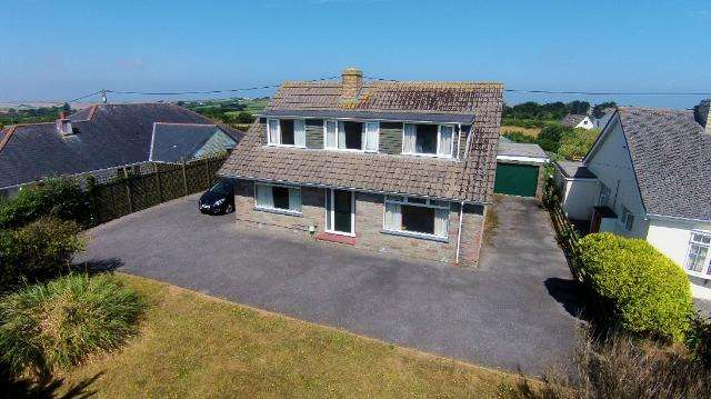 6 Bedrooms House for sale in Heol y Mor, Rock Road, Rock