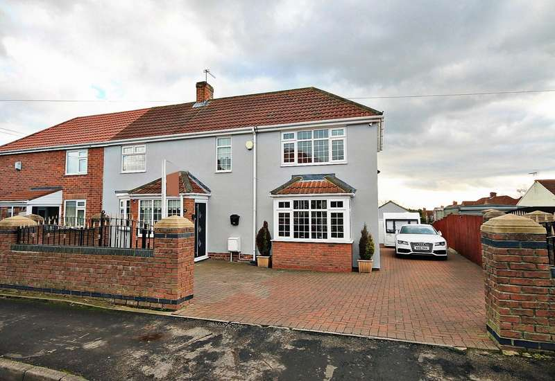 3 Bedrooms Semi Detached House for sale in Dodds Terrace, Wingate, Durham