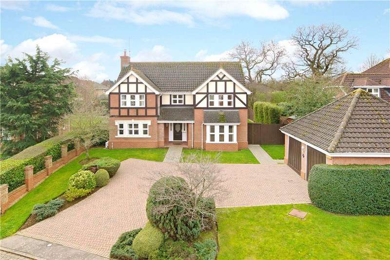 4 Bedrooms Detached House for sale in Belfry Lane, Collingtree, Northampton, Northamptonshire