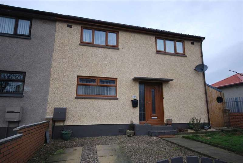 3 Bedrooms Semi Detached House for sale in Islay Crescent, Saltcoats