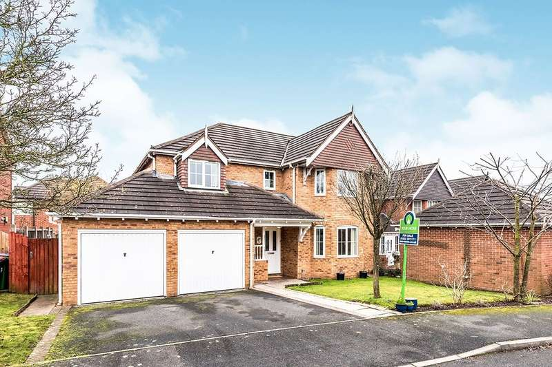 4 Bedrooms Detached House for sale in Mayfair Grove, Priorslee, Telford, TF2