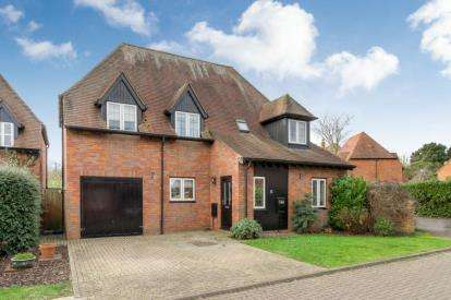 5 Bedrooms Detached House for sale in Butterfield Close, Woolstone, Milton Keynes