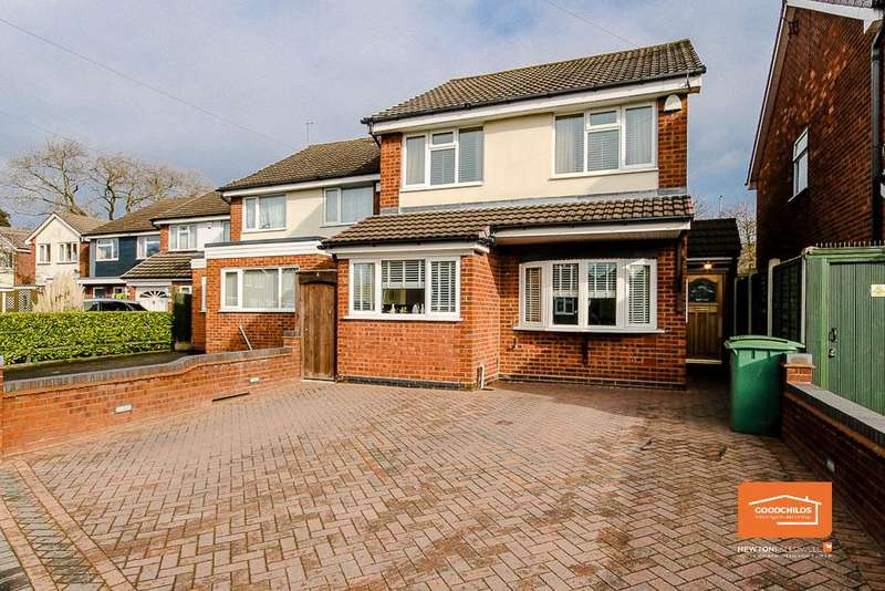 3 Bedrooms Detached House for sale in Broadmeadows Road, Willenhall, WV12 5JL