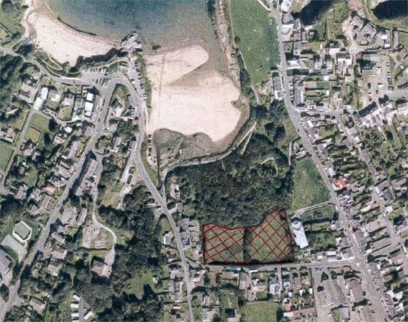 Land Commercial for sale in Land off Ffordd Newydd, Aberporth, Cardigan