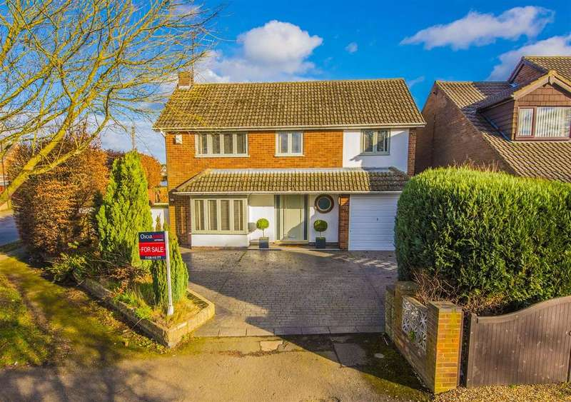 4 Bedrooms Detached House for sale in Rockingham Road, Kettering
