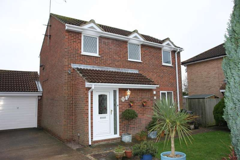 3 Bedrooms Detached House for sale in Jerome Close, Eastbourne BN23
