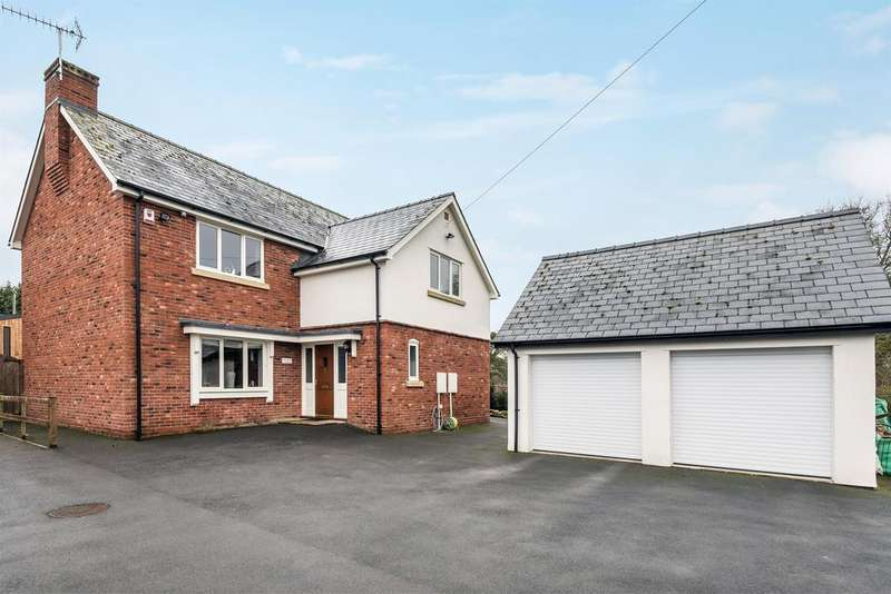 4 Bedrooms Detached House for sale in Sycamore House, Swainshill, Hereford, HR4 7QE