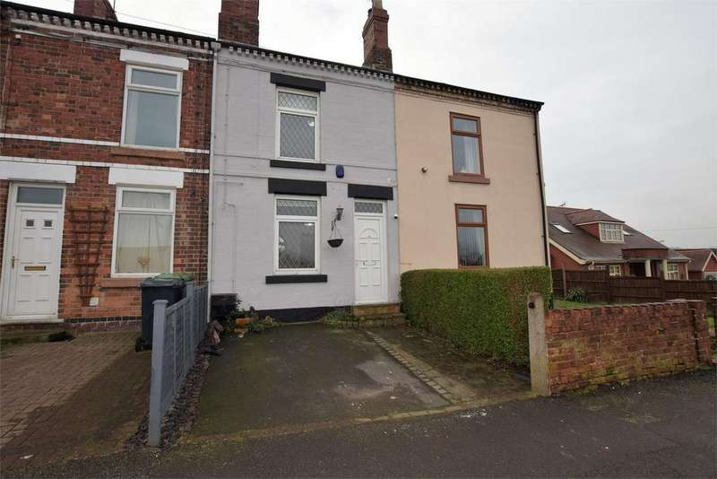 2 Bedrooms Terraced House for sale in Danesby Rise, Denby, RIPLEY, Derbyshire