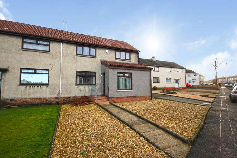 3 Bedrooms Semi Detached House for sale in Haining Avenue, Bellfield, Kilmarnock KA1