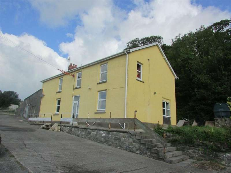 4 Bedrooms Farm Commercial for sale in Woolstone Farm, Backe Road, St Clears, Carmarthen