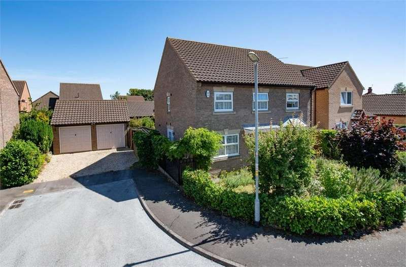 4 Bedrooms Detached House for sale in Saxon Gate, Kirton, Boston, Lincolnshire