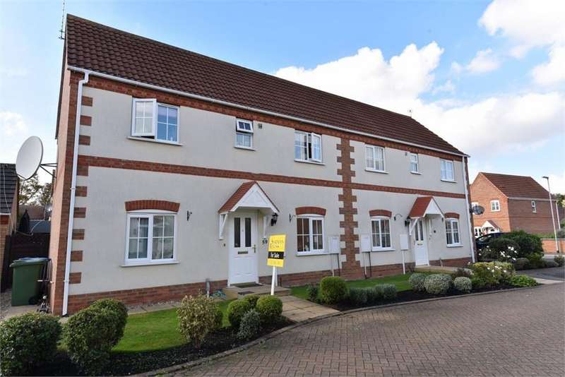 3 Bedrooms Semi Detached House for sale in Thomas Middlecott Drive, Kirton, Boston, Lincolnshire