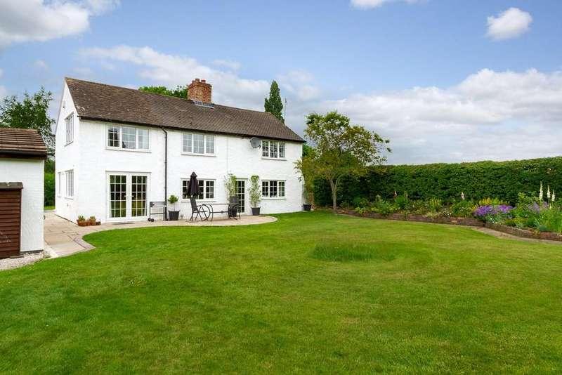 4 Bedrooms Detached House for sale in Poplar Cottage, Tarporley Road, Tarvin
