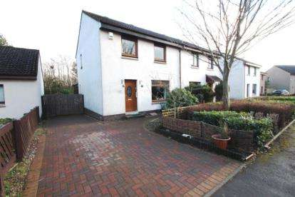 3 Bedrooms Semi Detached House for sale in Locheil Gardens, Glenrothes