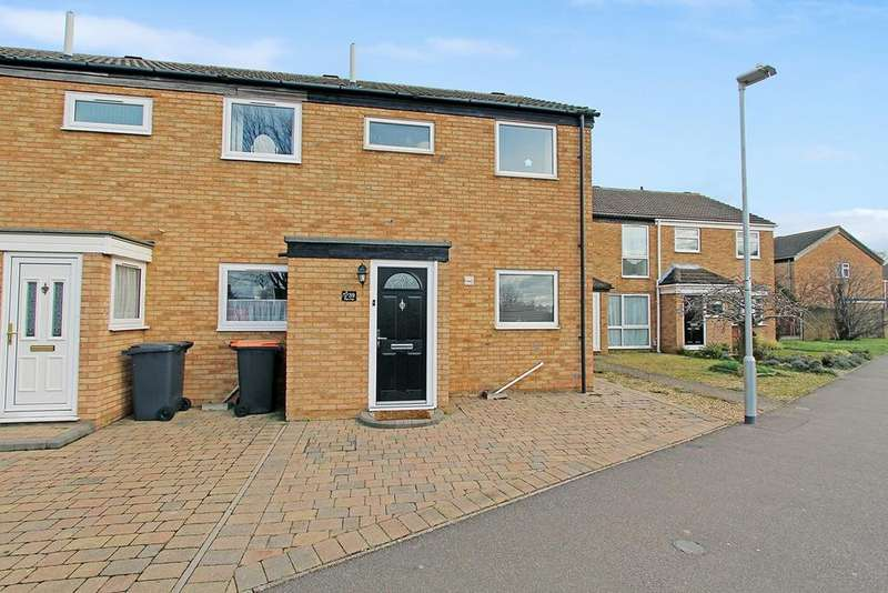 2 Bedrooms End Of Terrace House for sale in Hillgrounds Road, Kempston, Bedford, MK42