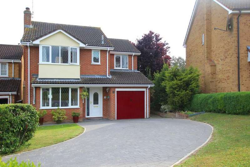 4 Bedrooms Detached House for sale in Roman Way, Haverhill CB9