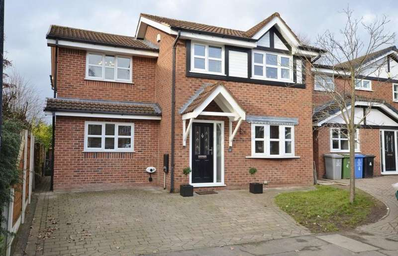 4 Bedrooms Detached House for sale in Spey Close, Altrincham
